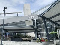Photo taken in May 2019 shows Google LLC's headquarters in Mountain View, California. (Photo by Kyodo News via Getty Images)