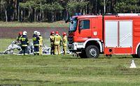 Katastrofa samoloty w Przylepie pod Zieloną Górą. Zginął 71-letni biznesmen Zbigniew Kuczma