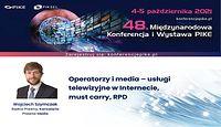 Operatorzy i media – usługi telewizyjne w Internecie, must carry, RPD