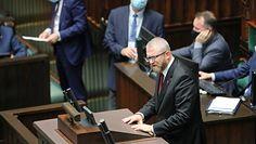 """Braun ukarany za słowa """"Będziesz pan wisiał"""". Minister Cieszyński komentuje"""