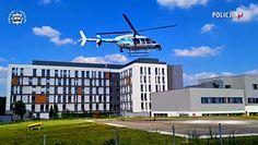 Niezwykła akcja policjantów z Poznania. Piloci helikoptera przewieźli serce z województwa zachodniopomorskiego do Wrocławia.