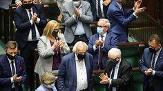 Zagłosowali przeciw odwołaniu Ryszarda Terleckiego. Rzeczniczka Porozumienia Magdalena Sroka tłumaczy