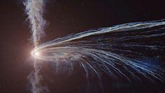 Kosmiczny spektakl. Niesamowite, co czarna dziura zrobiła z gwiazdą