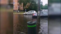 Ulewa nad Poznaniem. Mieszkańcy pokazują filmy