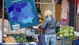 Wyniki wyborów a ceny w sklepach. Ta mapa pokazuje, jak bardzo są powiązane
