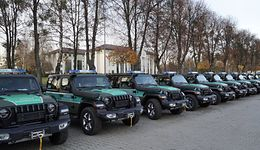 Straż graniczna kupiła nowe samochody. Kosztowały 14,5 mln złotych