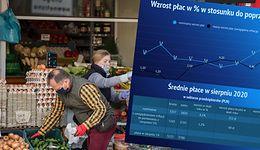 Inflacja uderza Polaków po kieszeniach. O ile tak naprawdę wzrosły zarobki?