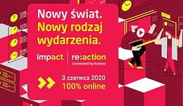 Impact re:action connected by Krakow. 100% online i żywo