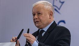Jarosław Kaczyński o Małgorzacie Kidawie-Błońskiej: Elegancka pani, ale zza jej pleców słychać wilka