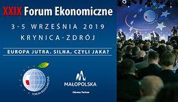 XXIX Forum Ekonomiczne w Krynicy. Start już we wrześniu