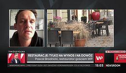 """Pascal Brodnicki apeluje o zamawianie jedzenia. """"Wesprzyjcie restauracje, na których wam zależy"""""""