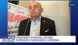 """Sklepy będą otwarte w niedziele 6 grudnia. """"Prezydent Andrzej Duda zwiódł"""""""