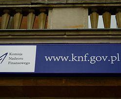 Lista ostrzeżeń KNF. Uwaga na trzy kolejne podmioty