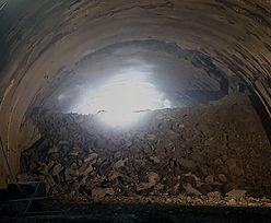 Przebito tunel na zakopiance. Prace trwają mimo epidemii