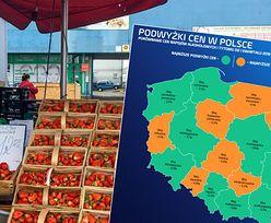 Inflacyjna mapa Polski. Żywność drożeje, ale nie wszędzie tak samo