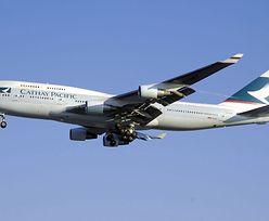 Koronawirus uderza w linie lotnicze. Rządowy pakiet ratunkowy dla Cathay Pacific