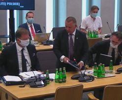 Immunitet Mariana Banasia. Posiedzenie komisji sejmowej zaczęło się od kłótni. Prezes NIK wyszedł
