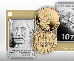 NBP wprowadził do obiegu monety kolekcjonerskie z wizerunkiem Wincentego Witosa