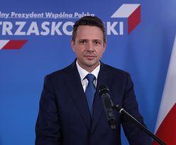 """Wybory 2020. Rafał Trzaskowski o emeryturach stażowych: """"podpisałbym w pierwszej kolejności"""""""