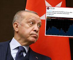 Kryzys walutowy w Turcji. Prezydent Erdogan jedną decyzją uderzył w lirę