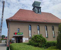 Sklep spożywczy w byłym kościele. Prawdopodobnie jedyny taki przypadek w Polsce