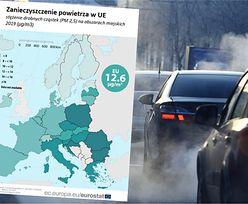 Zanieczyszczenie powietrza. Polska na szczycie niechlubnego rankingu