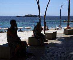 Koronawirus w Hiszpanii. Przez pandemię na półwysep przybyło o trzy czwarte mniej turystów
