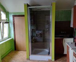 Prysznic w kuchni. Niecodzienna oferta wynajmu mieszkania