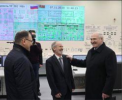 """Białoruś. Łukaszenka otwiera oficjalnie elektrownię i śni o """"mocarstwie atomowym"""""""