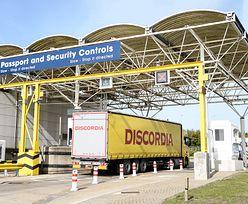 Koronawirus. Polscy przewoźnicy zatrzymani przed Eurotunelem