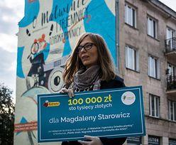 Biedronka wręcza 100 tys. zł i odsłania antysmogowy mural