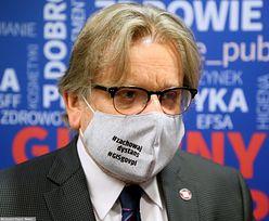 Prof. Jarosław Pinkas poza pracą, ma problemy zdrowotne. Minister zdrowia już wie o sprawie