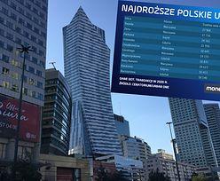 Niemal 30 tys. za metr kontra niewiele ponad 1 tys. zł. Oto najdroższe i najtańsze ulice w Polsce