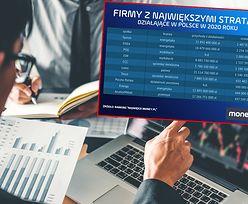 Najwięksi money.pl 2021. Oto 10 firm, które notują największe straty