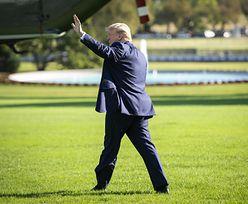 Trump pierwszy raz po opuszczeniu Białego Domu przyleciał do Nowego Jorku. Po cichu, jak nie on