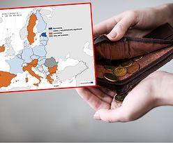 Koronakryzys w kilku krajach zwiększył ryzyko ubóstwa. Eurostat prezentuje mapę
