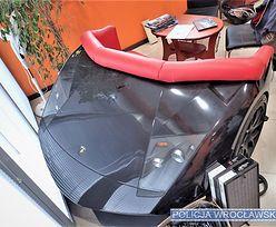 Robił meble w kształcie aut Lamborghini. Może iść na 5 lat za kraty