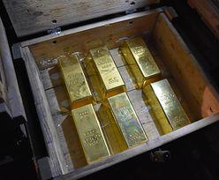 Kursy walut. Gwałtowna przecena złota