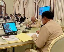 Premier Tajlandii ukarany grzywną. Powód: przyłapano go bez maseczki
