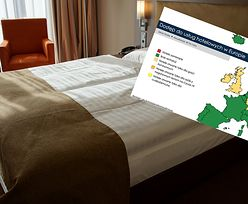 """Hotele w potrzasku. Na tej mapie nie jesteśmy """"zieloną wyspą"""""""