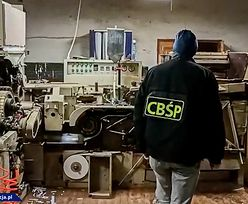Policjanci zlikwidowali nielegalną fabrykę papierosów. 8 osób zatrzymanych