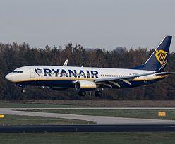 Porwany samolot Ryanair w Mińsku. Zapis rozmów pilotów z białoruską kontrolą lotów