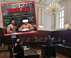 """Mariusz P. przedstawił sądowi L4. W czasie zwolnienia pojechał na """"Puchar Strongman"""""""