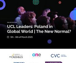 UCL Leaders 2021: Poland in a Global World już 6 marca!