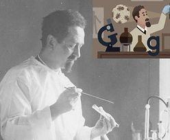 Rudolf Weigl w Google Doodle. Tak Polak zrewolucjonizował świat nauki