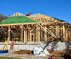 Miały być tanie, drewniane domy dla wszystkich. 31 pierwszych trafi jednak do regularnej sprzedaży