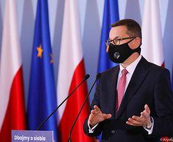 Konferencja premiera. PiS porozumiał się z Lewicą w sprawie Funduszu Odbudowy