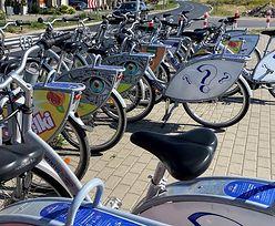 Miejskie rowery na zakręcie. Spadek liczby wypożyczeń nawet o kilkadziesiąt procent