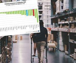 Polski przemysł rośnie najszybciej w Unii Europejskiej. Tak wynika z raportu Eurostatu