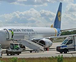 Koronawirus. Do Polski przyleciał samolot z pracownikami z Ukrainy